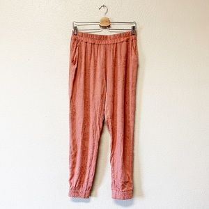 Anthropologie Saturday Sunday Floral Joggers